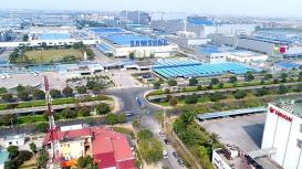 Cho thuê xe nâng hàng tại KCN Tiên Sơn
