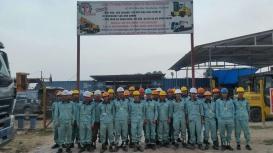 Cho thuê xe nâng hàng tại KCN Quang Minh