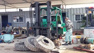 Sửa chữa xe nâng và các thiết bị